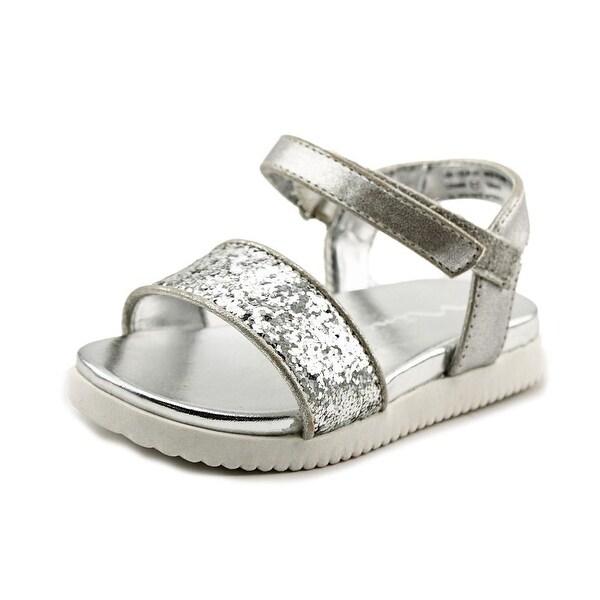 Nina Kids Gazmin Open-Toe Synthetic Slingback Sandal