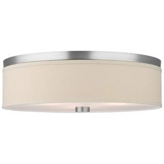 "Forecast Lighting F131936U 2 Light 20.5"" Wide Flush Mount Ceiling Fixture from the Embarcadero Collection"