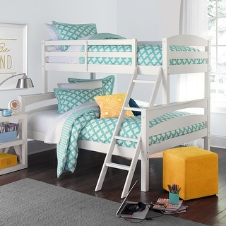 Avenue Greene Randall Kids' Twin-over-Full Wood Bunk Bed Frame