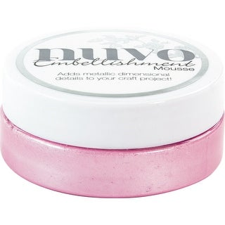 Nuvo Embellishment Mousse-Peony Pink