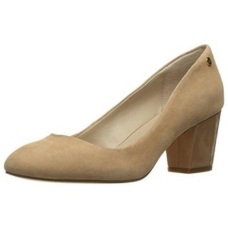 Calvin Klein Womens Kasey Pumps Suede Dress