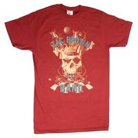 Zac Brown Band Skull Collage Soft T-Shirt - Small - Red