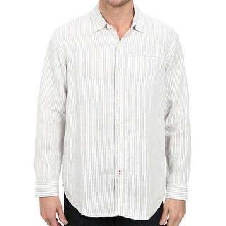 Tommy Bahama NEW White Mens Size Small S Beach Button Down Shirt