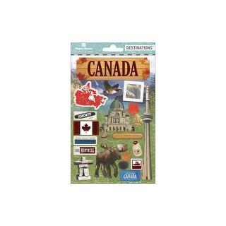 Paper House Sticker 3D Destinations Canada