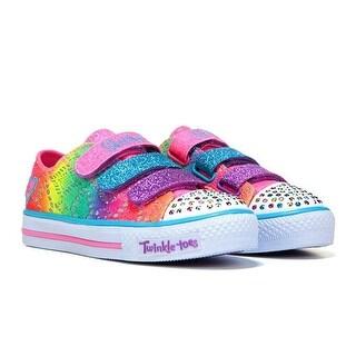Skechers Girl's TWINKLE TOES RAINBOW MADNESS Sneaker