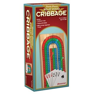 Folding Cribbage Wcards In Box Sleeve