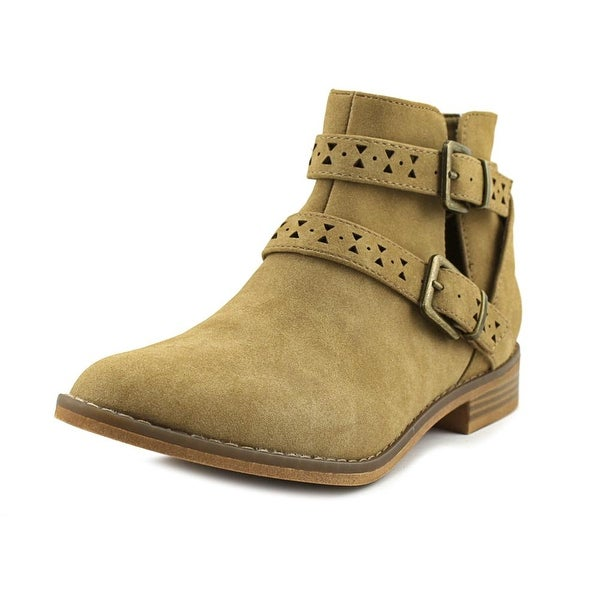 Rocket Dog Mack Women Round Toe Synthetic Tan Ankle Boot