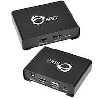 Siig Ce-H21p11-S1 1X2 Hdmi Splitter With 3D And 4Kx2k