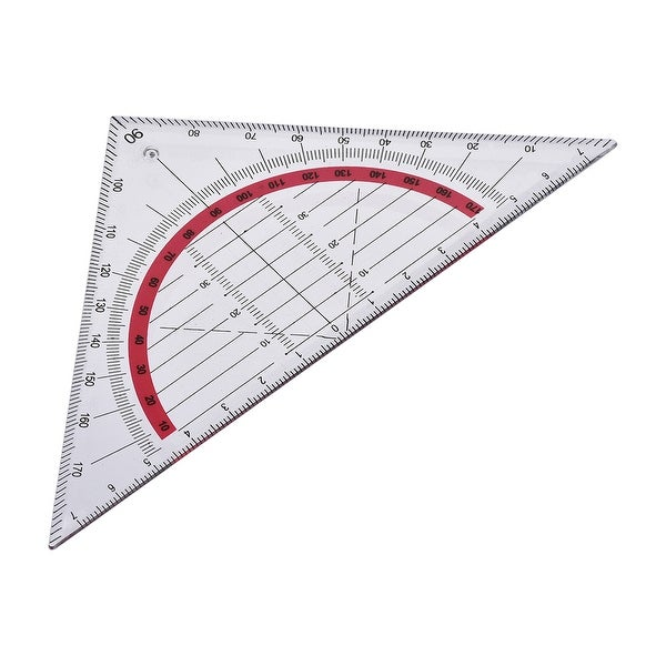 Triangle Ruler Square Set 90mm 45 Degrees Plastic Stationery Math Geometry