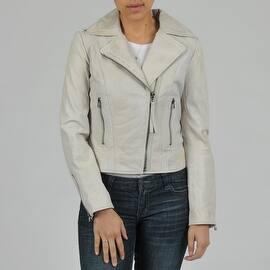 Buffalo Women's Asymmetrical Zip Biker Leather Jacket|https://ak1.ostkcdn.com/images/products/is/images/direct/a60b617d9291b73447c6cad099cc1014d9eefab8/Buffalo-Women%27s-Asymmetrical-Zip-Biker-Leather-Jacket.jpg?impolicy=medium