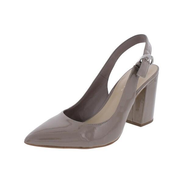424 Fifth Womens Lisa Slingback Heels Pointed Toe Dress