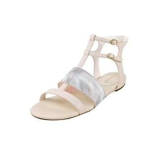 Enzo Angiolini Nyri Open Toe Synthetic Sandals