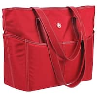 Sumo Women's Large Tote Red/White - us women's one size (size none)