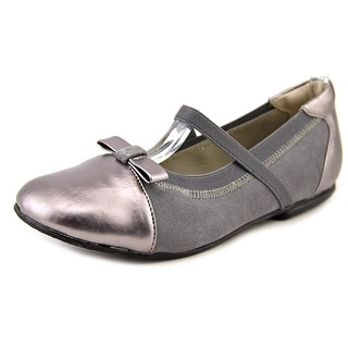 Balleto by Jumping Jacks Destiny Round Toe Synthetic Ballet Flats