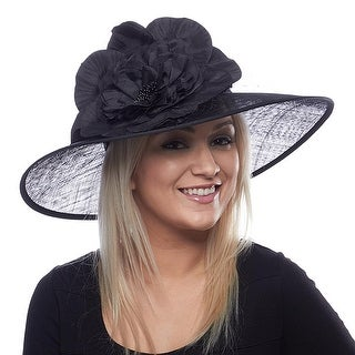 Lexington Lady Sinamay Derby Hat