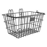 SUNLITE Front Lift Off Wire Bicycle Basket - Black 14.5x8.5x7 - BT412BKB