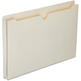 Skilcraft NSN6321019 1 in. Expanding Legal File Folder - Manila