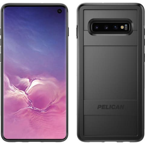 Pelican Protector For Samsung Galaxy S10 - Black Protective Case