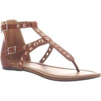 Madeline Women's Augusta Thong Sandal Tobacco Synthetic