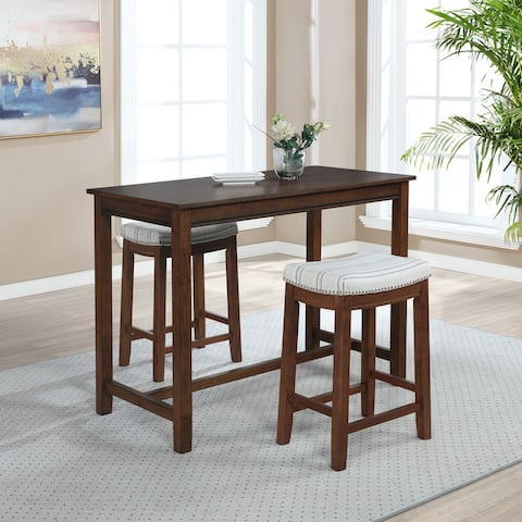 "Bridgeport 36 inch Counter Height Pub Table - 27.25""w x 23.75""d x 36""h"
