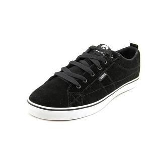Osiris 45 Men Round Toe Suede Black Fashion Sneakers