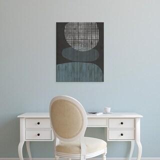 Easy Art Prints Jennifer Goldberger's 'Resting Shapes I' Premium Canvas Art