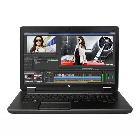 HP ZBook 17 G2 17.3-in Refurb Laptop - Intel Core i7 4810MQ 4th Gen 2.80 GHz 32GB 256GB SSD +256GB SSD DVD-RW Windows 10 Pro