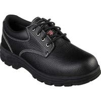 Skechers Men's Work Workshire Tydfil Steel Toe Shoe Black