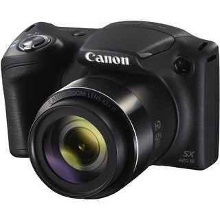 Canon PowerShot SX420 IS Digital Camera (Black) (Intl Model)