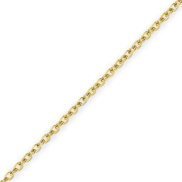 Stainless Steel IP Gold-plated 2.3mm Cable Chain - 20 Inches  (2.3 mm) - 20 in