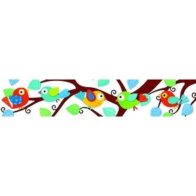 Carson-Dellosa Boho Birds Border, Pack of 12