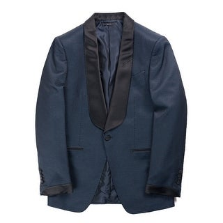 Tom Ford Mens Buckley Base Mesh Print Tuxedo Jacket - 42r