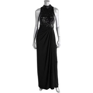 Lauren Ralph Lauren Womens Evening Dress Sequined Sleeveless