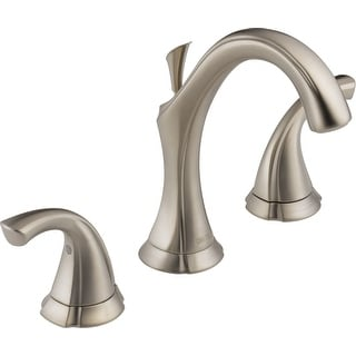 Delta 3592LF  Addison Widespread Bathroom Faucet with Pop-Up Drain Assembly