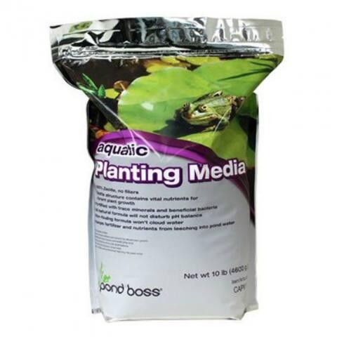 Pond Boss CAPM10 Aquatic Planting Media, 10 Lb