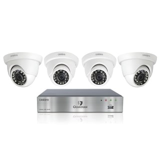 UNIDEN G7404D Wired DVR Security Camera System w/ 4 1080P Dome Cameras and 500GB HDD