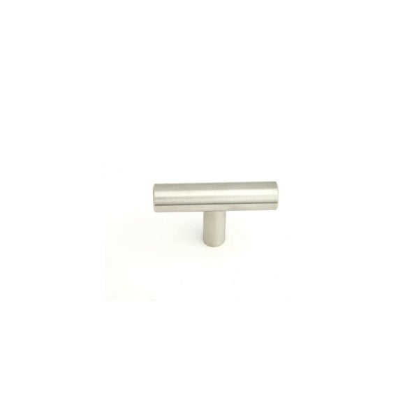 Giagni KB-QT 2 Inch Long Bar Cabinet Knob - STAINLESS STEEL