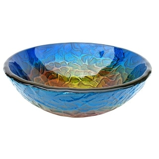Eden Bath True Planet Glass Vessel Sink