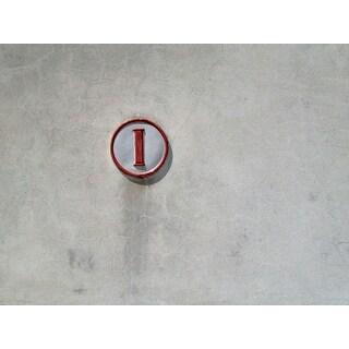 Grey Wall Photograph Unframed Fine Art Print