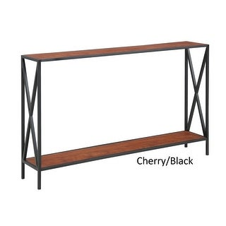 Link to Carbon Loft Ehrlich Cross Design Console Table Similar Items in Living Room Furniture