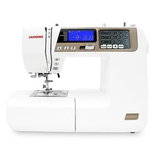 "Link to Janome 4120QDC-T Computerized Quilting and Sewing Machine with Bonus Quilt Kit - White - 19"" x 10"" x 15"" Similar Items in Sewing & Quilting"