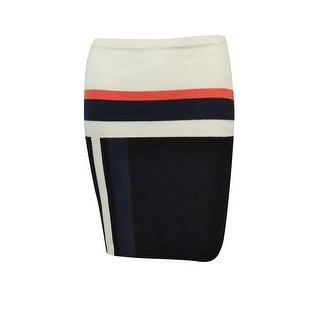 Rachel Rachel Roy Women's Colorblock Knitted Pencil Skirt - S