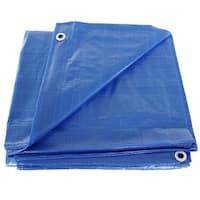 Hygrade MT-2040 Multiple Use Tarpaulin, 20' X 40' Poly Tarp, Blue