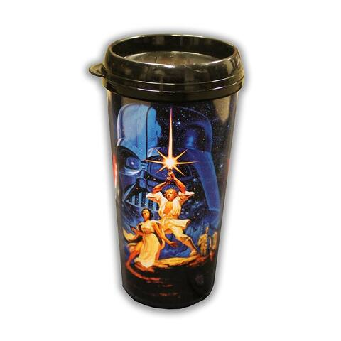 Star Wars: A New Hope 16oz Plastic Travel Mug - Multi