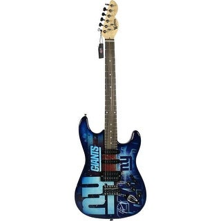 Eli Manning New York Giants Electric Guitar