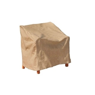 """Budge P1W04SF1-N Extra Large Chair Cover, Polyethylene, 41"""" x 37"""" x 39"""""""