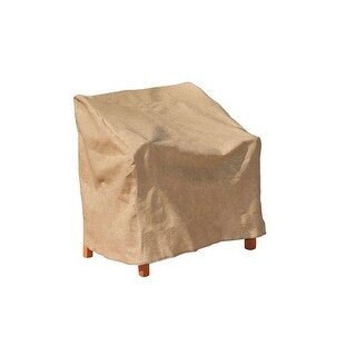"Budge P1W04SF1-N Extra Large Chair Cover, Polyethylene, 41"" x 37"" x 39"""