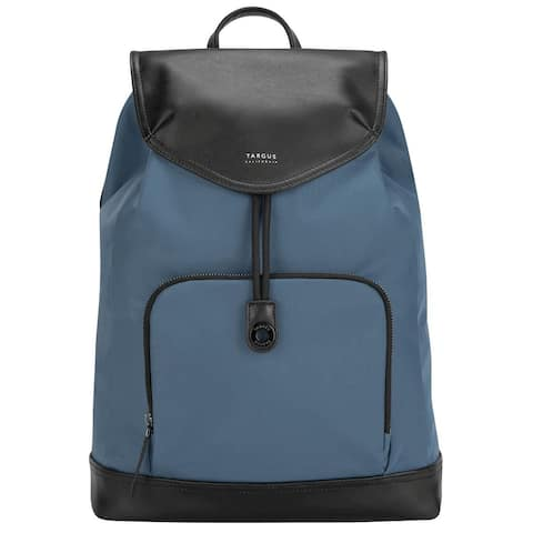 """Targus 15"""" Newport Drawstring Backpack (Slate Blue) - TSB96403GL"""