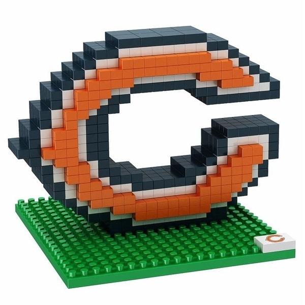 Chicago Bears 3D NFL BRXLZ Bricks Puzzle Team Logo