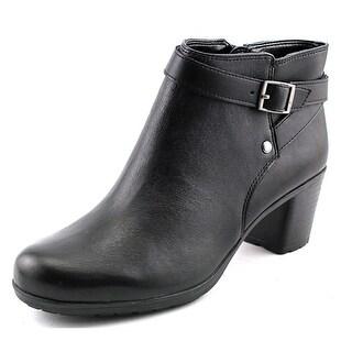 Easy Spirit Adino Round Toe Leather Ankle Boot